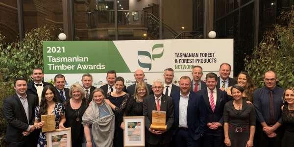 Reconcilliation celebrated at 2021 Tasmanian Timber Awards