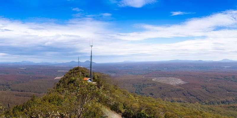 Companion Hill Panorama
